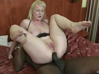 Matured whore with huge natural tits Monik ass fucked by a unconscionable guy