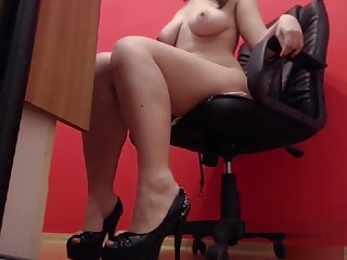 Fetish Mistress High In straitened circumstances together with Trotters Tease