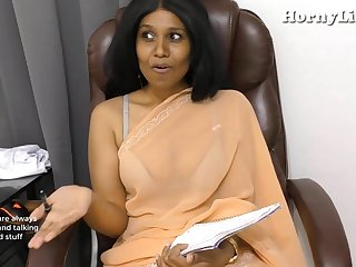Indian Tutor seduces young people pov roleplay in Hindi
