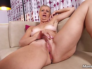 Blond See red Granny Gets Nailed Hard in POV style