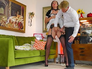 The mature mademoiselle is willing to fiddle with for rub-down the pauper