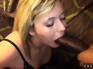 Attractive festival milf takes a huge pitch-black cock in her frowardness