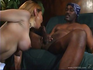The most awesome interracial sex back a horny cowgirl back fake tits
