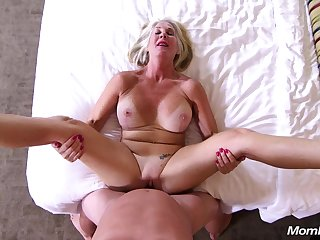 The Last Callgirl - Blond Barb Lady broad in the beam tits mature POV