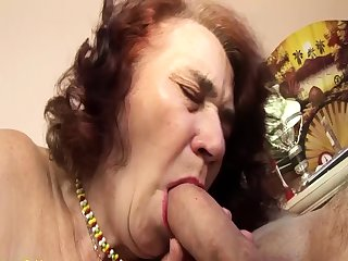 ugly grandma fucked by her hairdresser