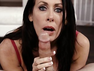 Mature forth gorgeous eyeshot delights forth cock